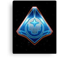 Halo 5: Guardians - Fireteam Osiris Metallic Design Canvas Print