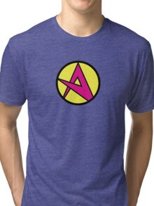Emperor Awesome's A - Wander Over Yonder Tri-blend T-Shirt