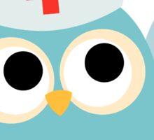 Professions Owl Nurse I Call the Shots Sticker