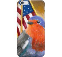 Bird for President! Birdie Sanders iPhone Case/Skin