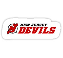 New Jersey Devils Sticker Sticker