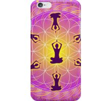 Yoga Mandala iPhone Case/Skin