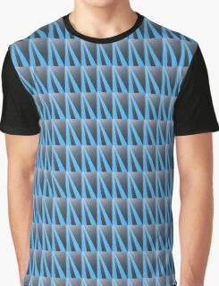 .Blue Road Graphic T-Shirt