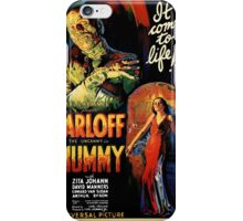 Boris Karloff in The Mummy (Poster 1932) iPhone Case/Skin