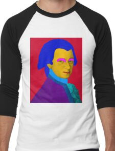 Mozart pop Art Men's Baseball ¾ T-Shirt