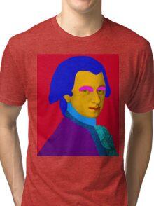 Mozart pop Art Tri-blend T-Shirt