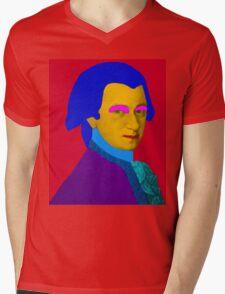 Mozart pop Art Mens V-Neck T-Shirt
