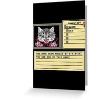 8-Bit Death Greeting Card