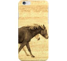 Running Mates, Horses Running Together. iPhone Case/Skin