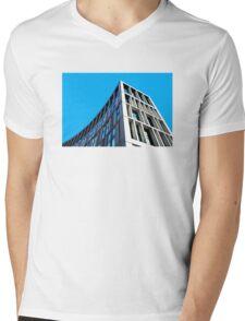 Urban fin! Mens V-Neck T-Shirt