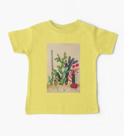 Cacti 3 Baby Tee