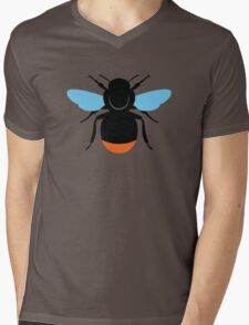 Red-Tailed Bumblebee Mens V-Neck T-Shirt