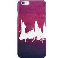 New York Watercolor Skyline iPhone Case/Skin