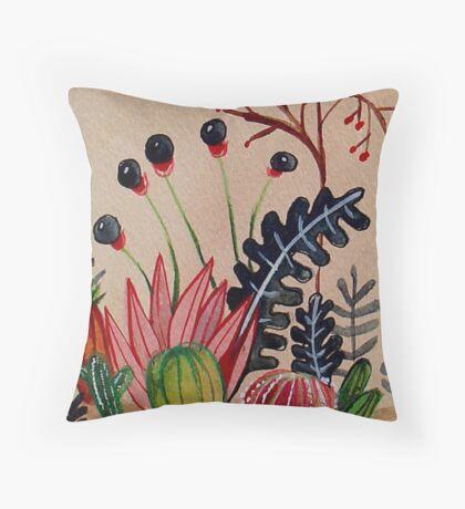 Cacti 2 Throw Pillow