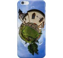 Planet St.Sebastien - Miniature planet of Chapelle Saint Sebastien in Dambach-la-ville, France.  iPhone Case/Skin