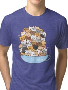 Cup of Mews - Cats Tri-blend T-Shirt