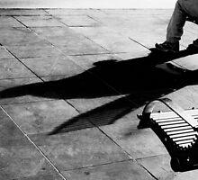 Contemplation - Melbourne Australia by Norman Repacholi