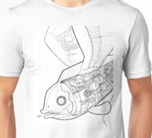Flying Fish and Party Gnomes Unisex T-Shirt