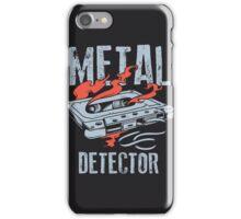 Metal Dectector Flaming Audio Cassette iPhone Case/Skin