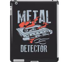 Metal Dectector Flaming Audio Cassette iPad Case/Skin