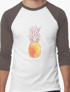 StrawberryPineapple Men's Baseball ¾ T-Shirt