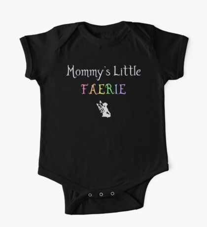 Mommy's Little Faerie One Piece - Short Sleeve