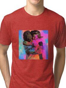 larry hug Tri-blend T-Shirt