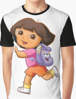 Dora Graphic T-Shirt