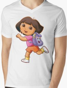 Dora Mens V-Neck T-Shirt