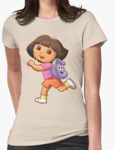 Dora Womens Fitted T-Shirt