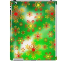 Snow Flake Spring  iPad Case/Skin