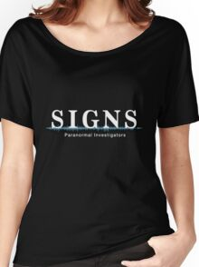 SIGNS Paranormal  Women's Relaxed Fit T-Shirt