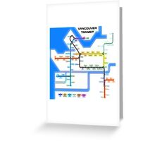 Vancouver Transit Network Greeting Card