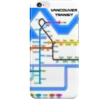 Vancouver Transit Network iPhone Case/Skin