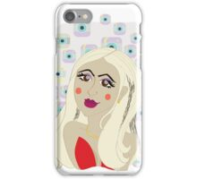Ready for picture girl iPhone Case/Skin