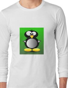 Cute Penguin Long Sleeve T-Shirt