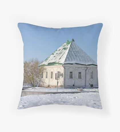 the old building of the Treasury Throw Pillow
