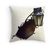 Sconce and Shadow Throw Pillow