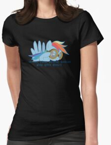 Shipping Goggles Womens Fitted T-Shirt
