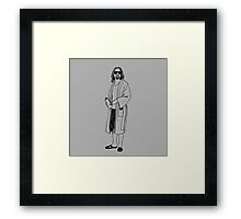 DUDE II Framed Print