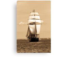 Sailing Baltic Sea Canvas Print