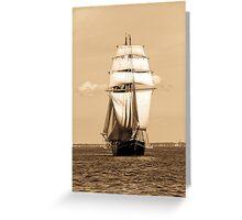 Sailing Baltic Sea Greeting Card