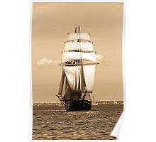 Sailing Baltic Sea Poster