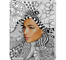 Tangled Women's Face Fashion Drawing iPad Case/Skin