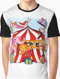 Big Top Circus With Animals Graphic T-Shirt