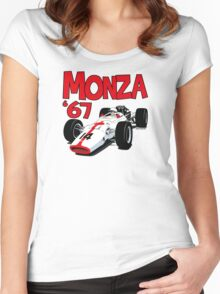 1967 Honda RA300 F1 Car Women's Fitted Scoop T-Shirt