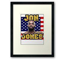 Jon Jones Framed Print