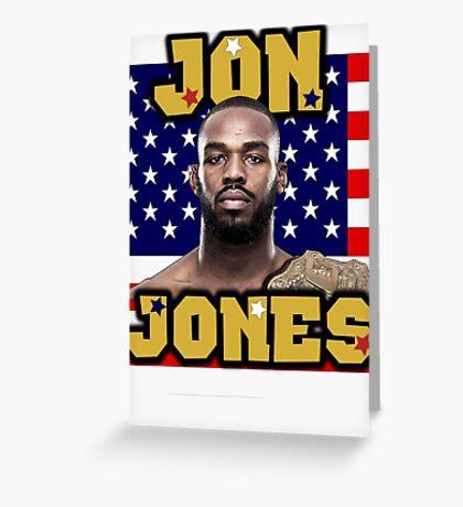 Jon Jones Greeting Card
