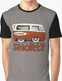 VW Camper Van Shorty Graphic T-Shirt