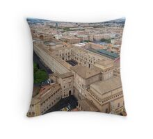 Museums in the Vatican City Throw Pillow